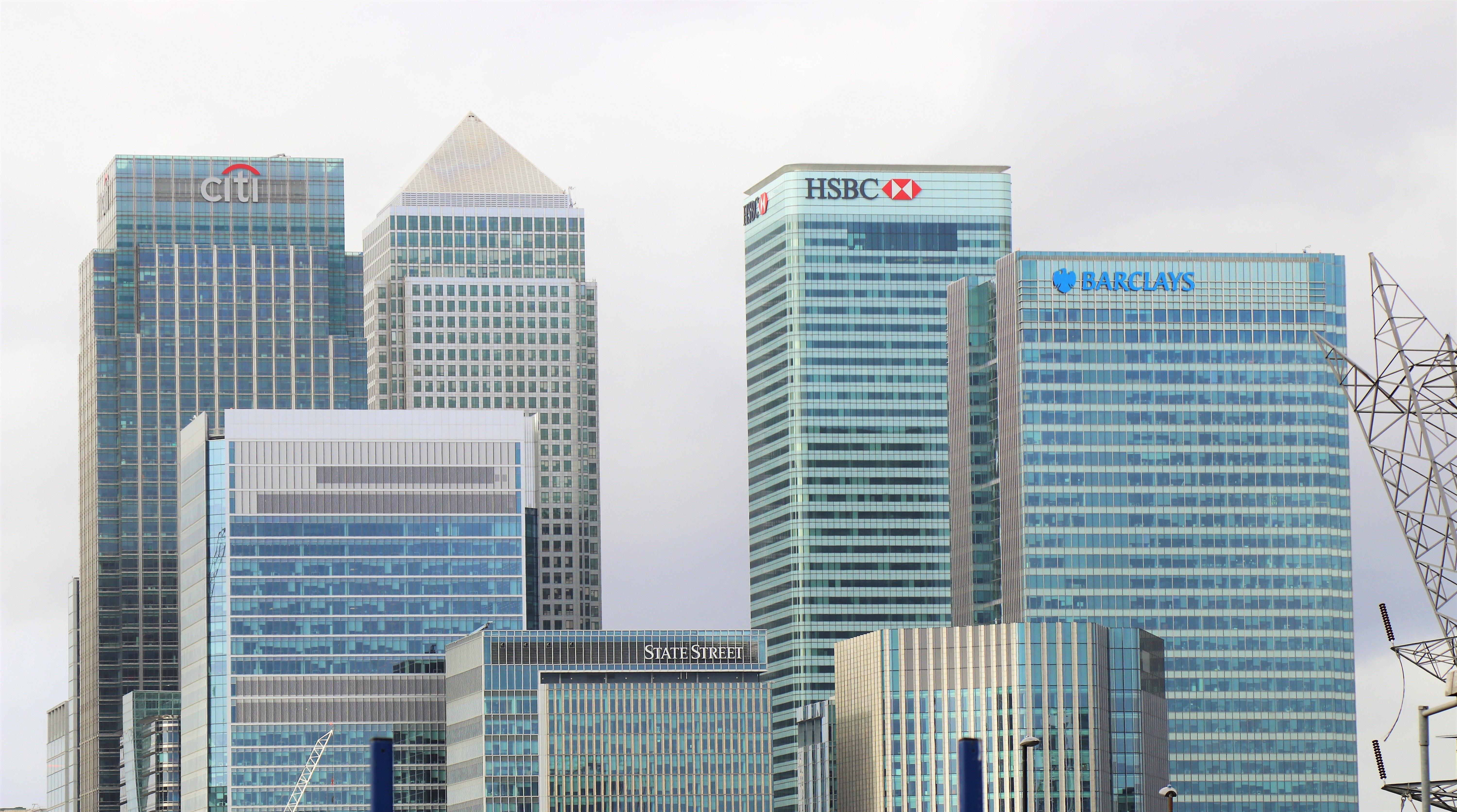 Bild på storbanker