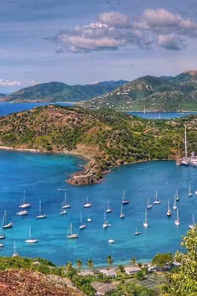 Hamnen i Antigua