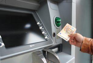 Bankomat med Euro