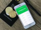 Bitcoin Cash i en iPhone